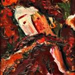 Автопортрет к.м. 34,5х24,51993