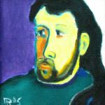 Автопортрет х.м. 38х36 2005
