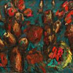 Африканские бабочки х.м. 125х150 1991