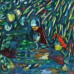 Вечернее купание х.м. 140х150 2002
