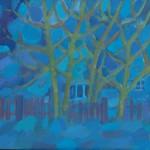 Зима в Хотькове х.м. 80х100 2011