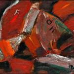 Красные паруса х.м. 39х46 1996