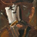 Мужской портрет, к.м., 35х25, 2000