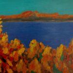 Осень на Волге, х.м. 60х90 2016