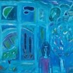 Открытое окно х.м., 140х150 2001