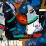 Паруса-08 х.м. 50х120 2008