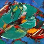 Побег х.м. 70х90 2003