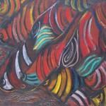 Рыбки х.м. 83х93 1993