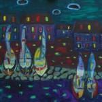 Цветная ночь х.м. 69х78 2006